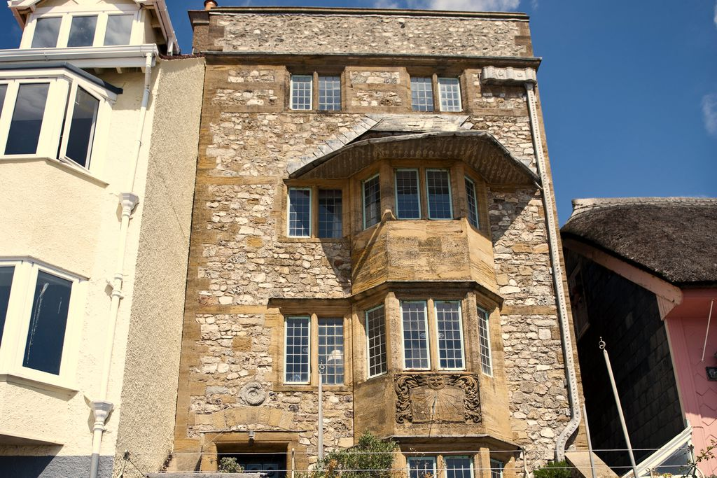 Exterior shot of The Sundial in Lyme Regis Dorset