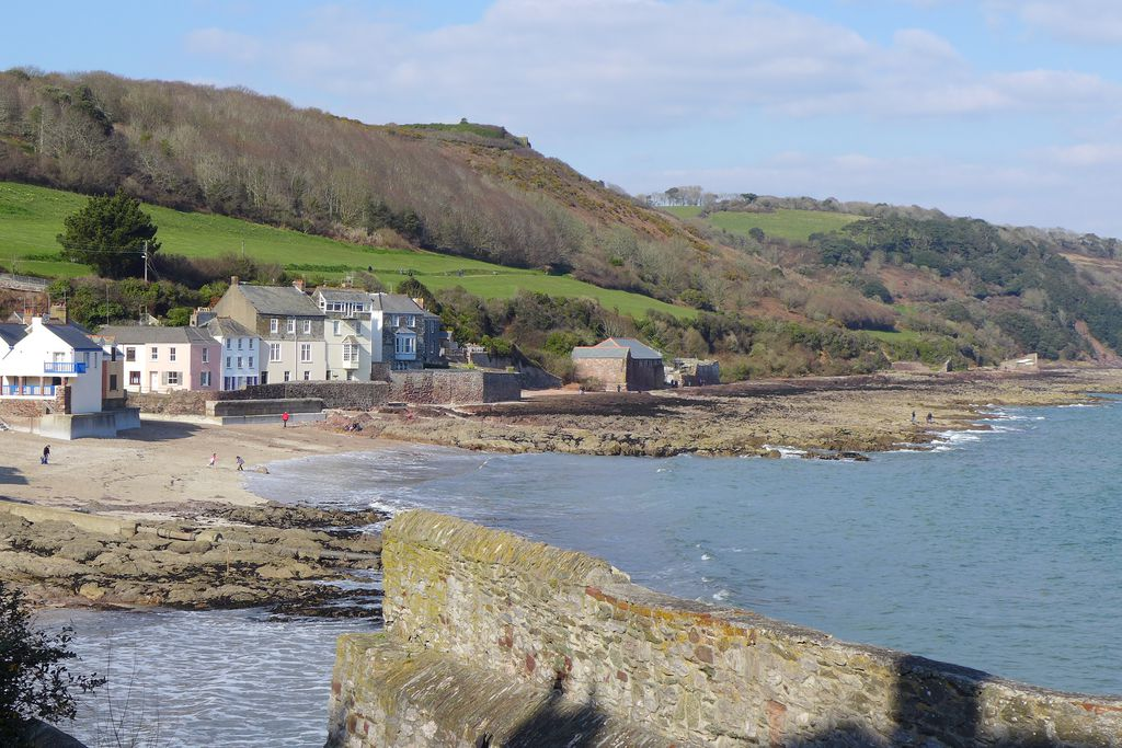 Kingsand Beach at Seacroft in Cornwall