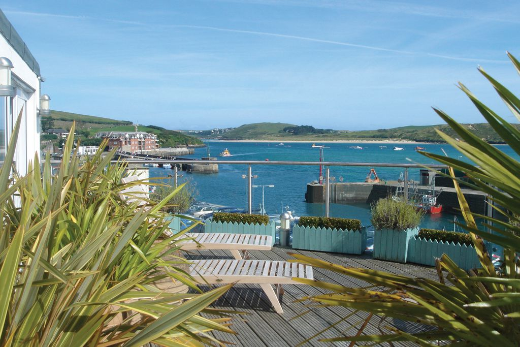 Views from The Seafood Restaurant in Cornwall
