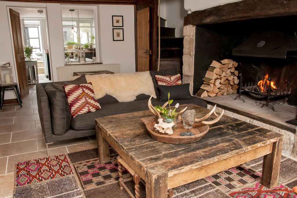 Cosy sitting room at 62 Mallams in Devon