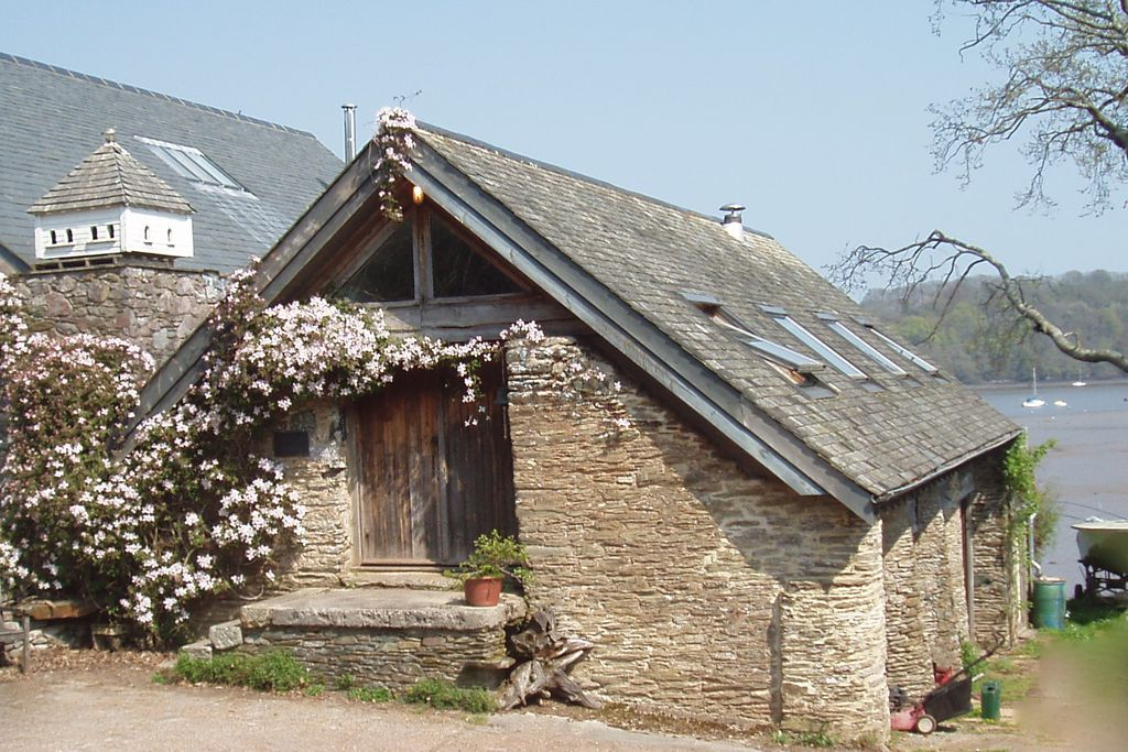 Exterior view of the barn