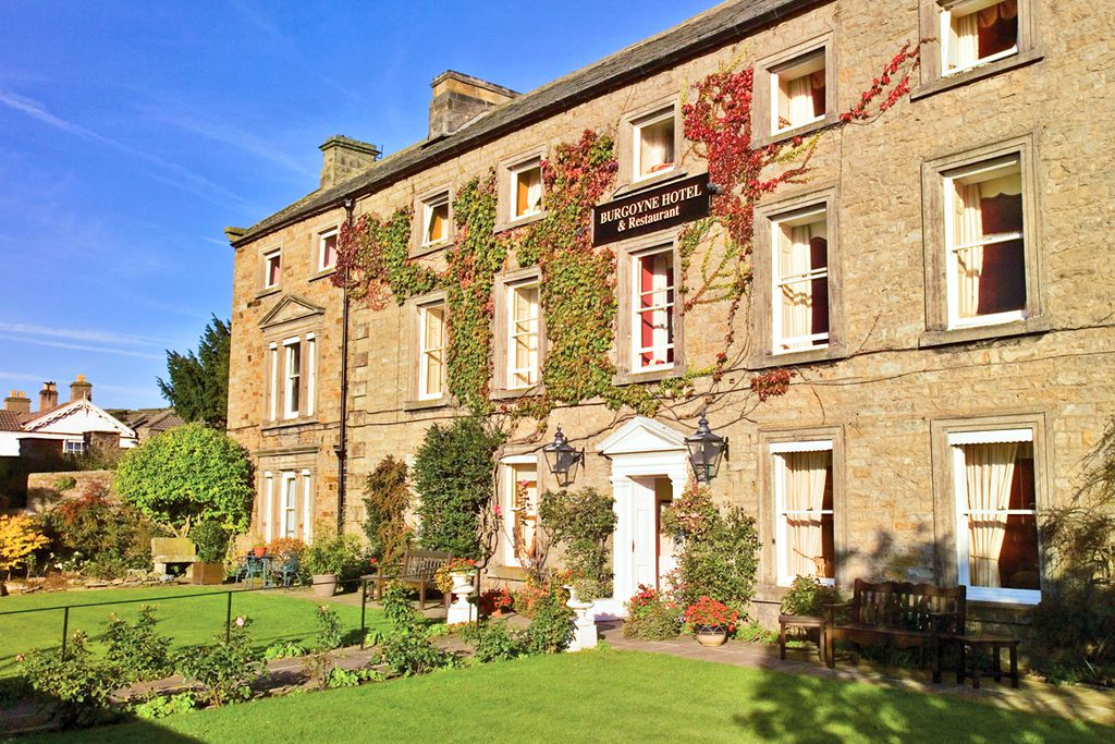 Elegant The Burgoyne Hotel is the north Yorkshire Dales