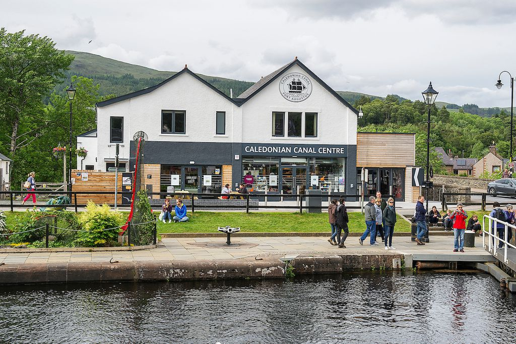 Lock Chambers @ The Caledonian Canal Centre - Gallery