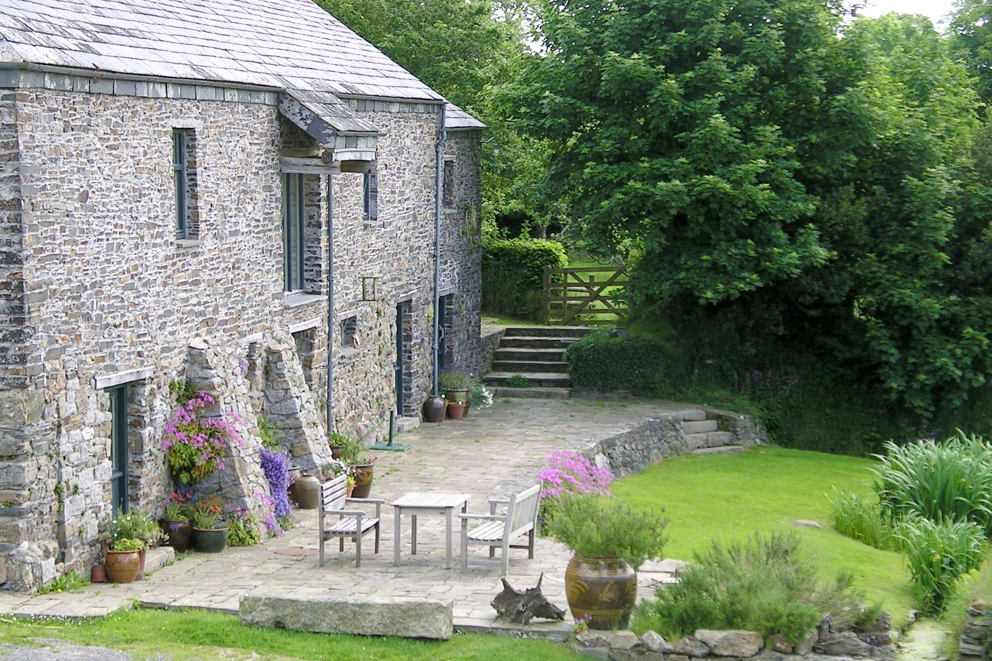 Exterior of East Penrest Farm in Cornwall