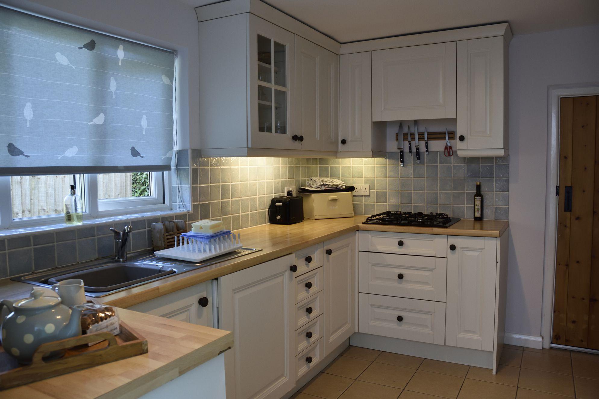 Old Post Cottage Devon, modern and stylish kitchen