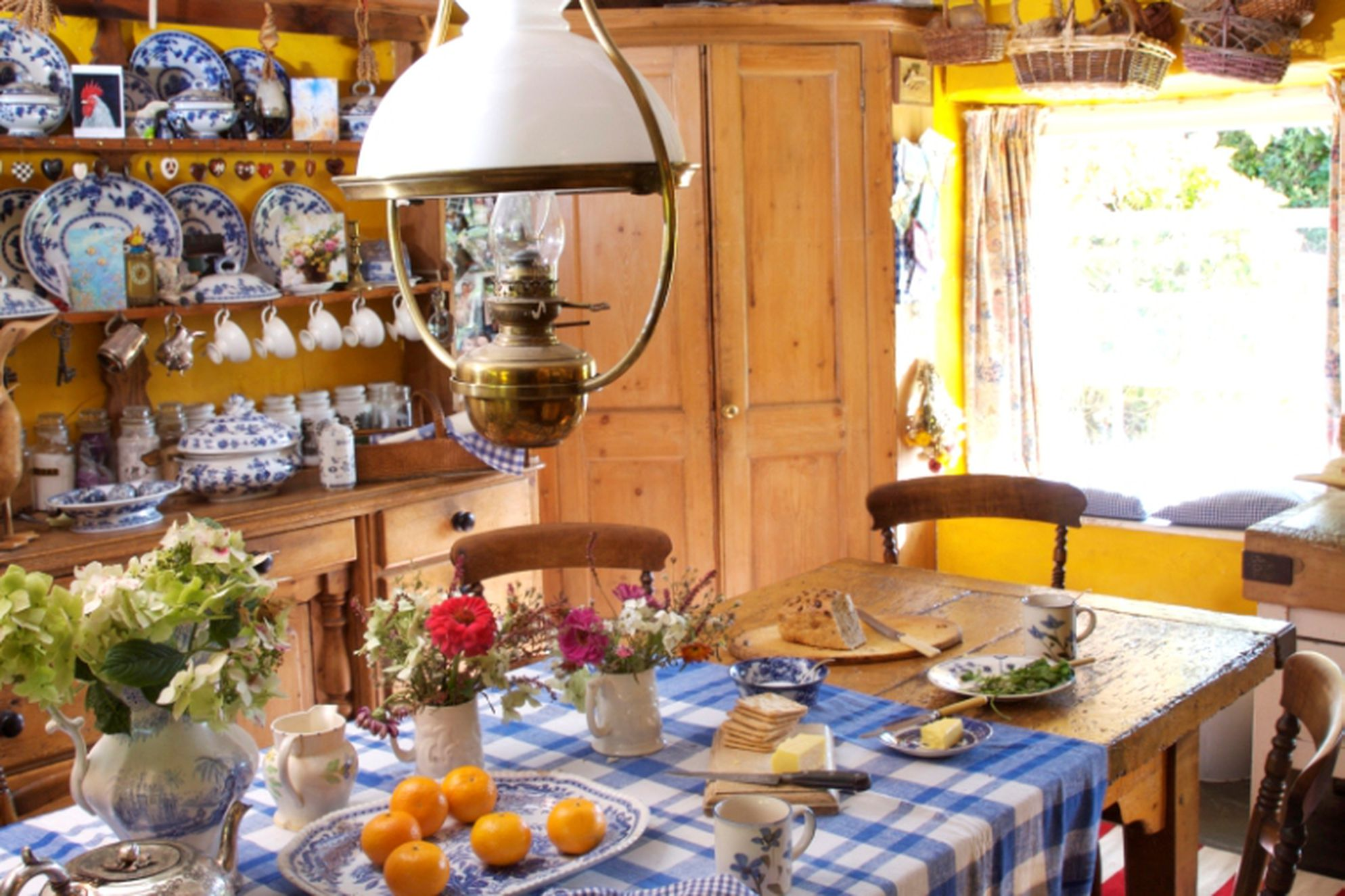 The Corn Mill Cornwall Kitchen with traditional features