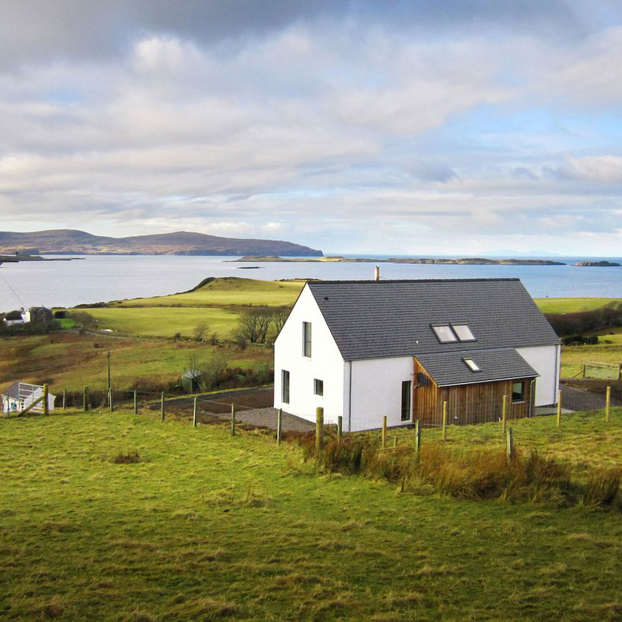 Coastal Cottages in Scotland