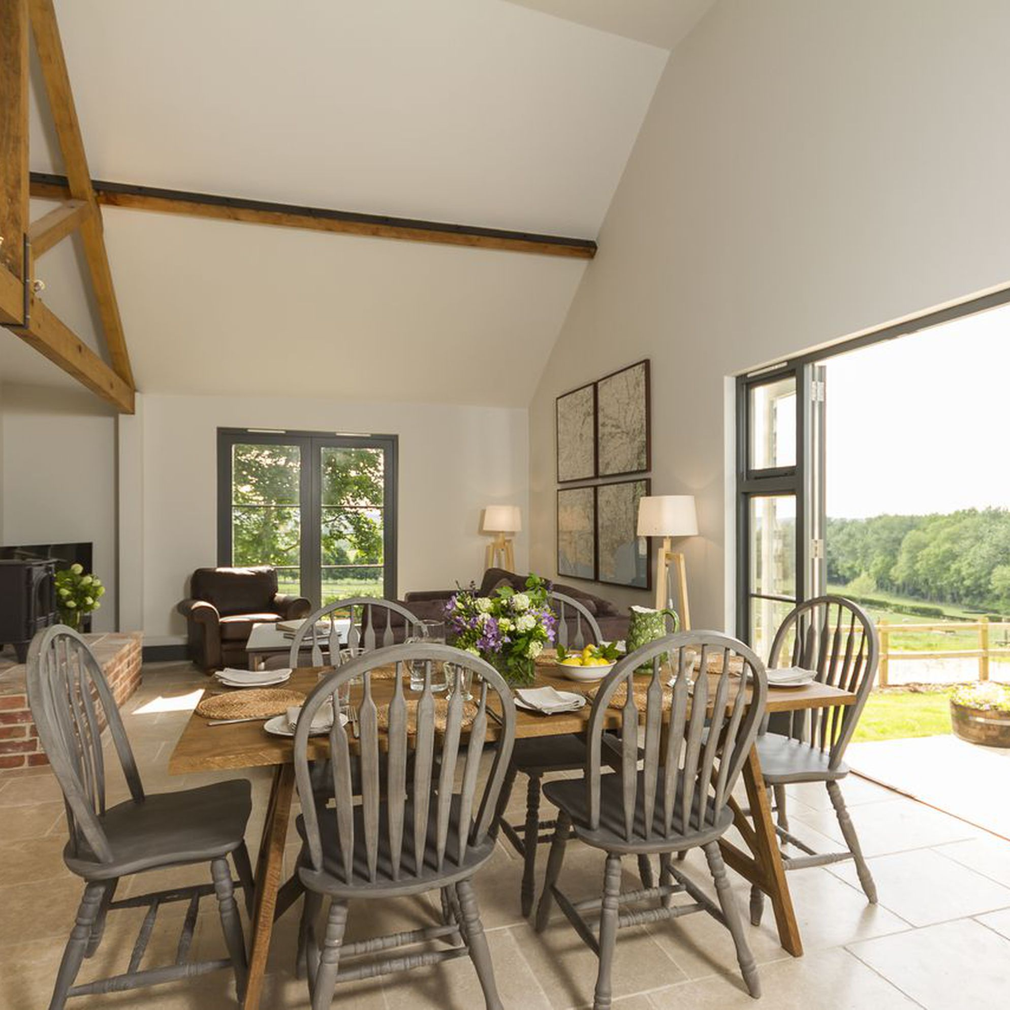Large holiday cottages in Dorset