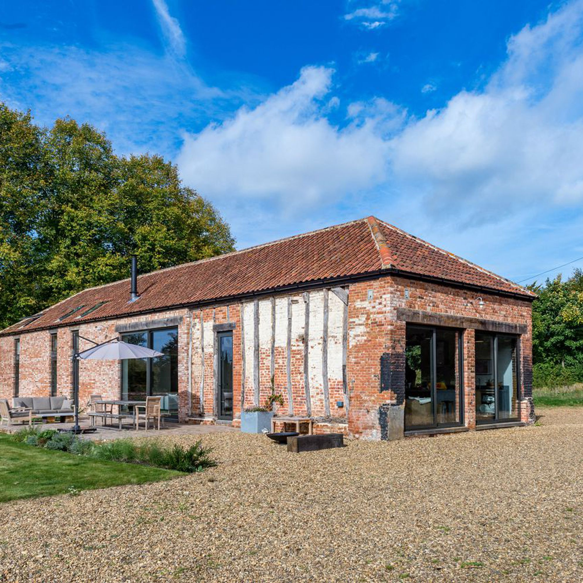 Large holiday cottages in Norfolk
