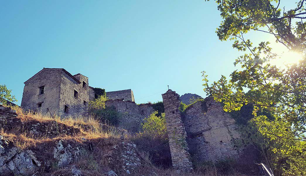 Medievil village in Cilento Italy