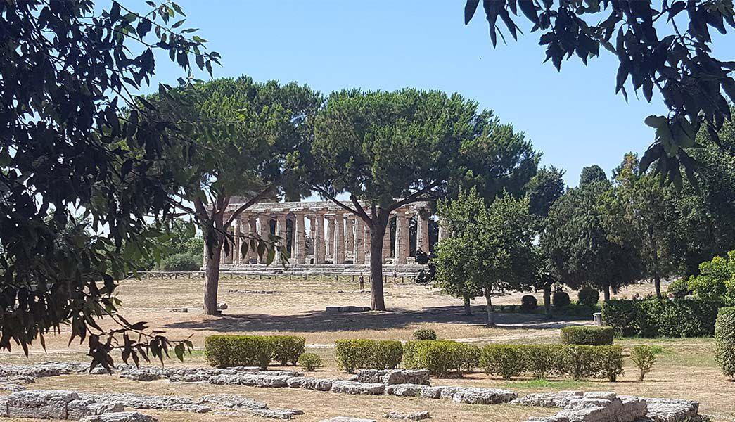 Paestum ruins in Cilento Italy