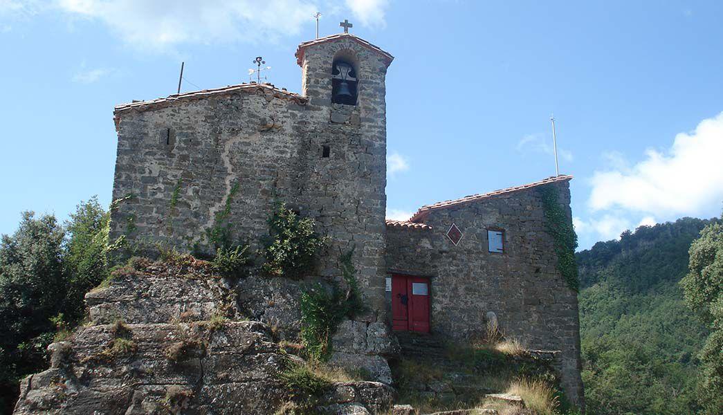 Sant Miquel de Castello church Catalonia