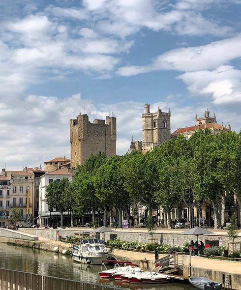 Narbonne Barcelona ot Montpellier train route