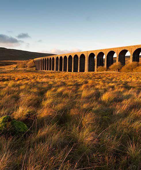 Settle to Carlisle train route