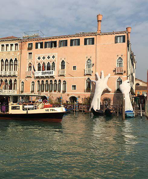 Grand Canal Venice Mary Novakovich