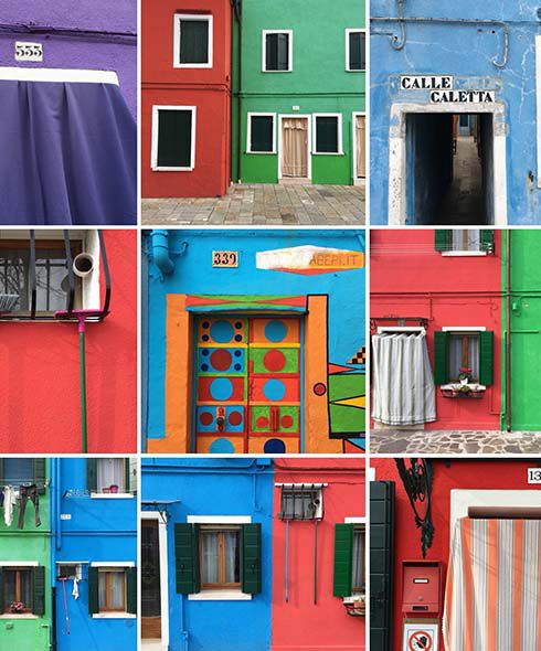 The fantastically colourful fishermen's cottages of Burano