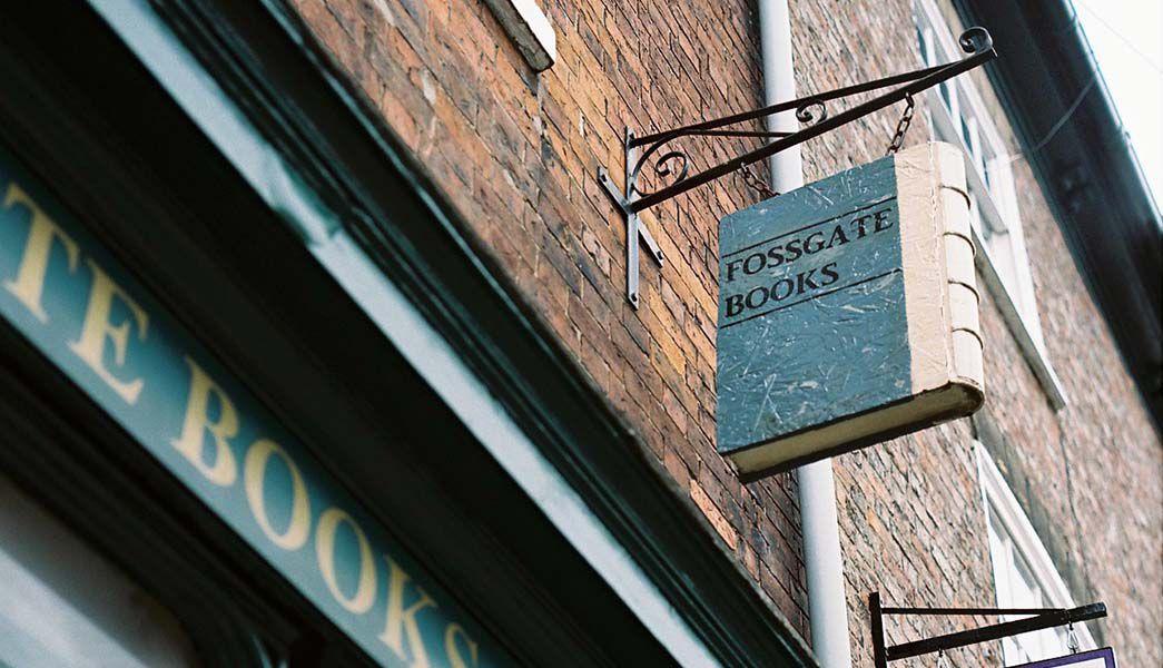 York Fossgate Street bookstore