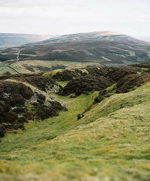 Wild landscapes near Reeth, Yorkshire