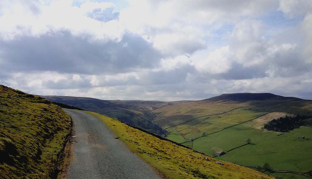Driving from Malham to Reeth