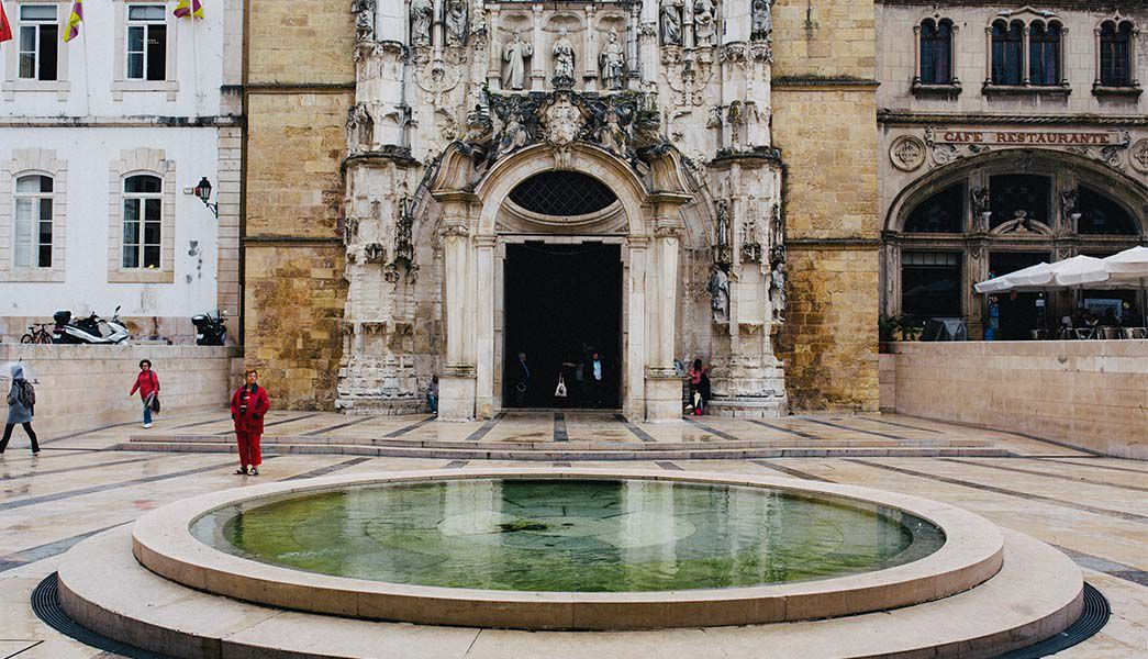 Water feature, Coimbra