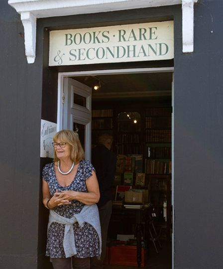 Rosie Young of Bridport Old Books
