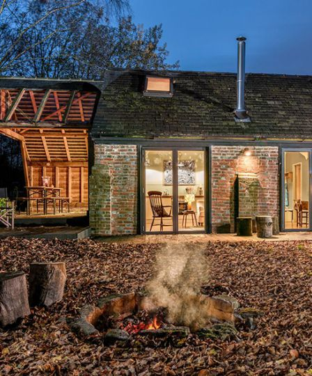 The Tack Barn is one of our top picks for romantic autumn escapes