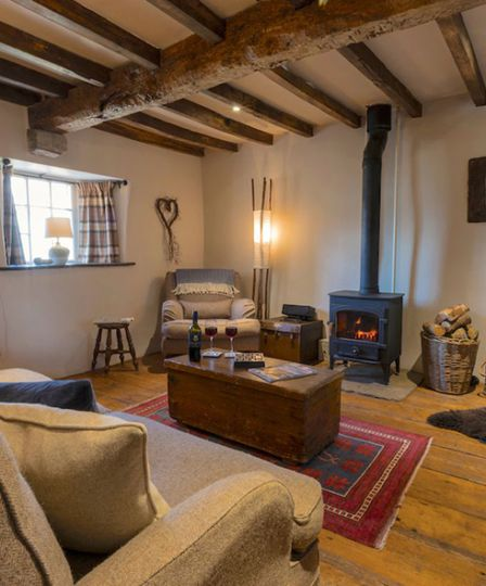 Shepherd's Cottage is one of our top picks for romantic autumn escapes
