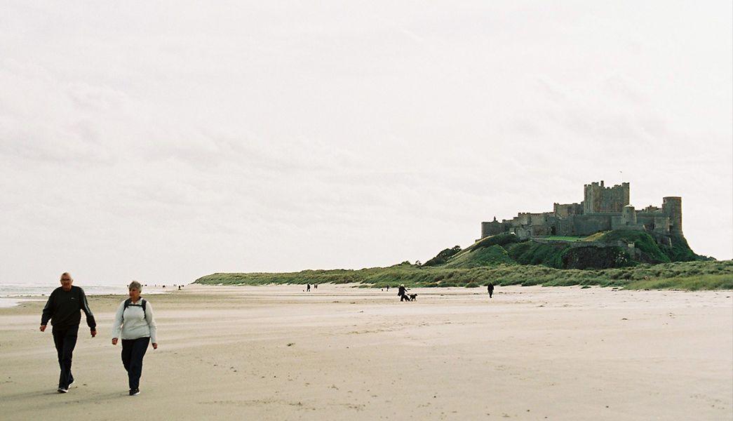 Bambrugh Castle