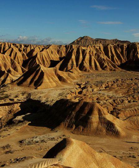 Aragon desert
